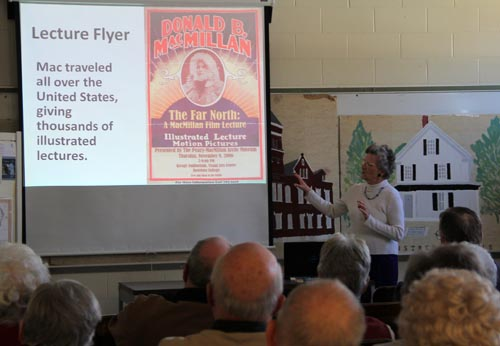 My lecture at Westbrook (ME)Historical Society.